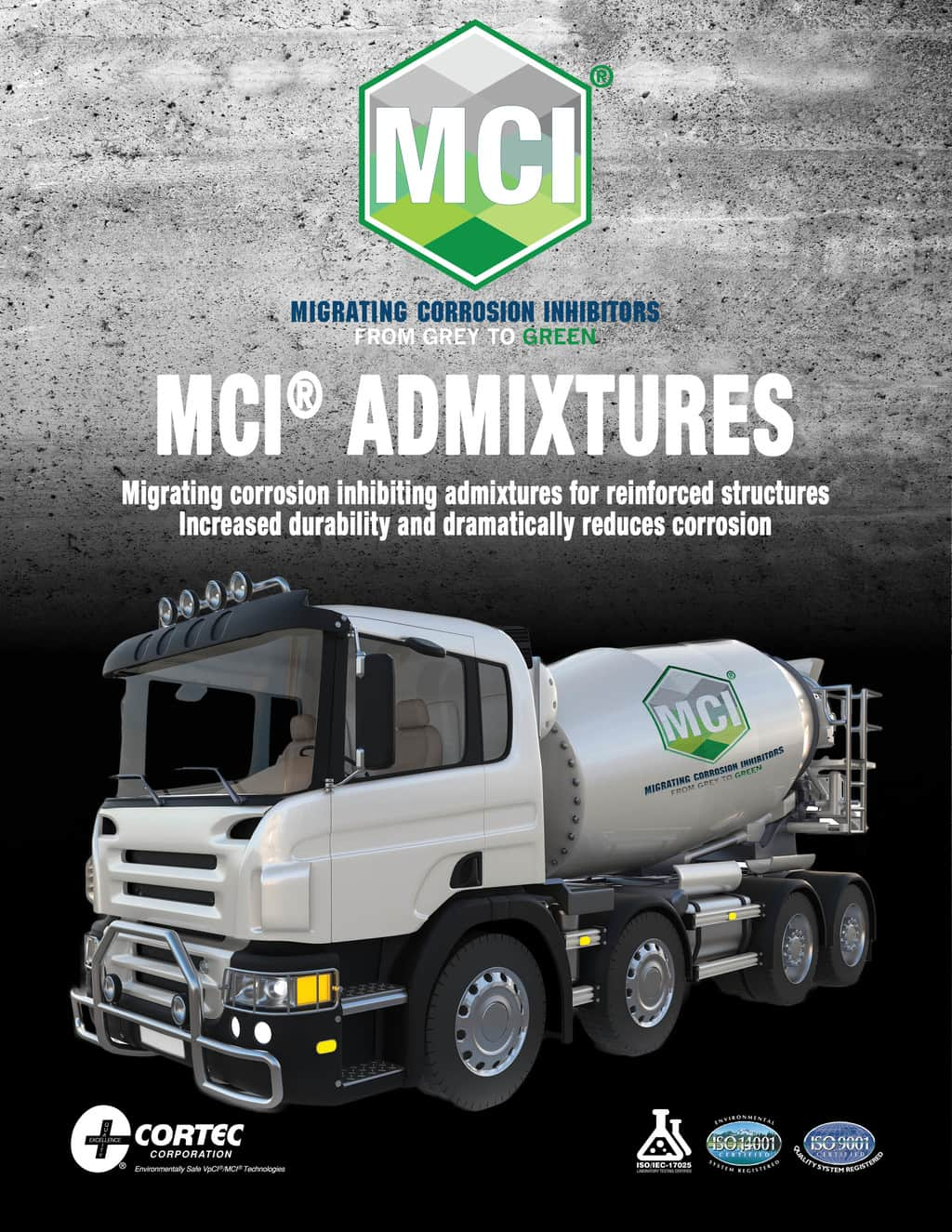 admixture brochure showing mci products