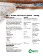 MCI-Antigraffiti Coating