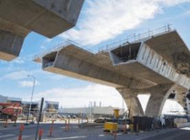 Image of bridge under repair/construction